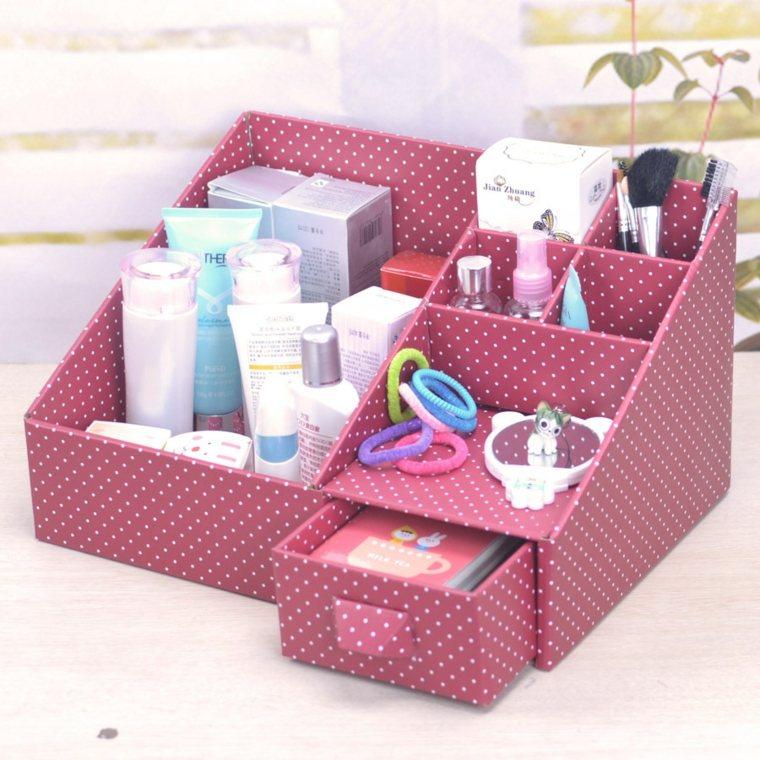 Boîte rangement maquillage : idées à réaliser soi-même - La maison DIY