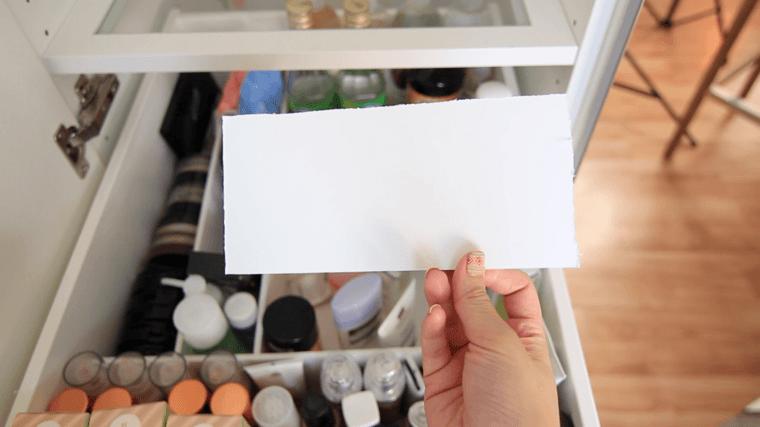 boite rangement maquillage faire separateur tiroir papier