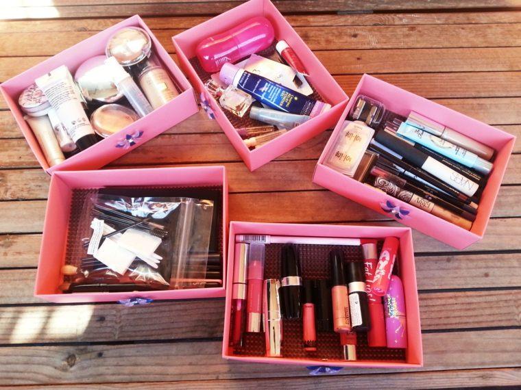 boite rangement maquillage pas cher faire
