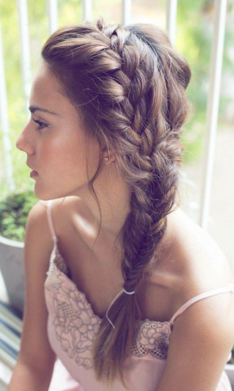 coiffure femme 2015 ete romantique