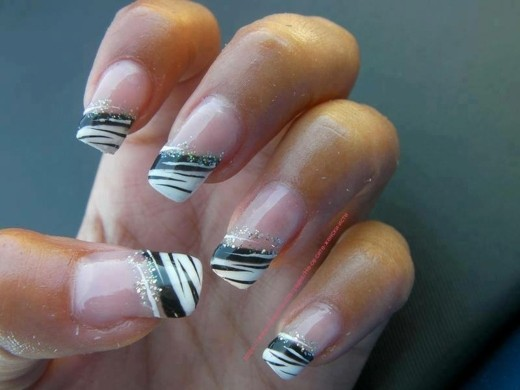 deco ongles french manucure