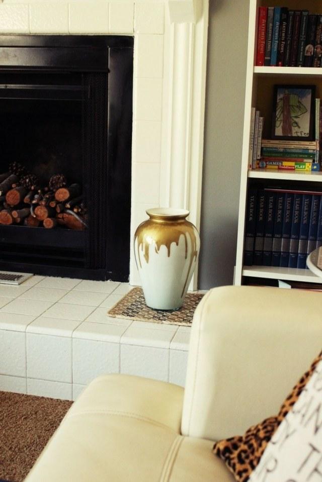 effet vase verre idee original beau