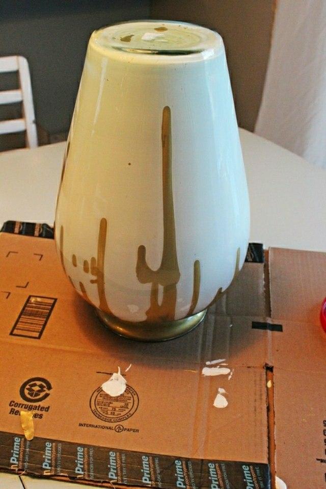 idee vase design bricoler maison original facile peinture