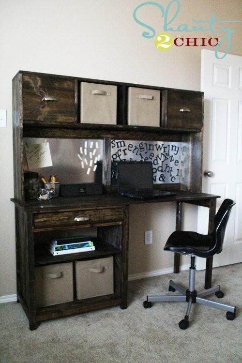 29 meubles fabriquer soi m me la maison diy for Meuble bureau ecologique