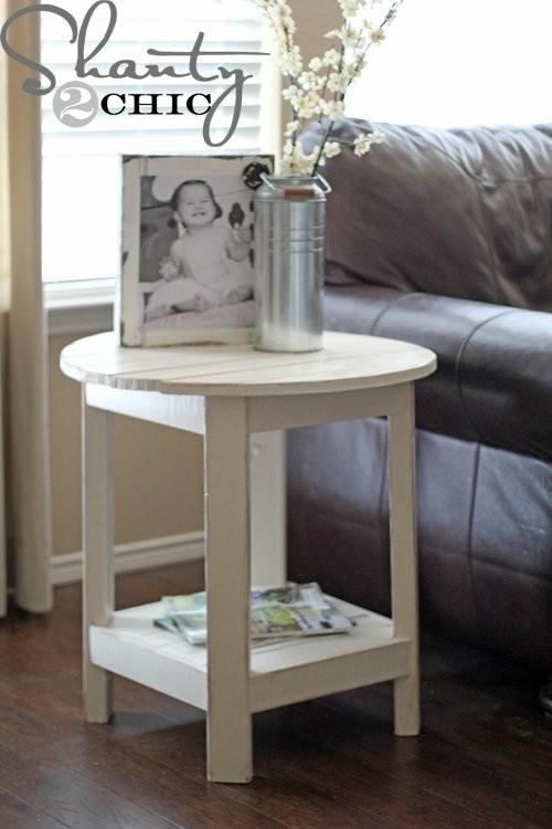 Table basse intéressante DIY