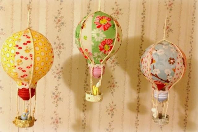 petites montgolfieres DIY chambre enfants