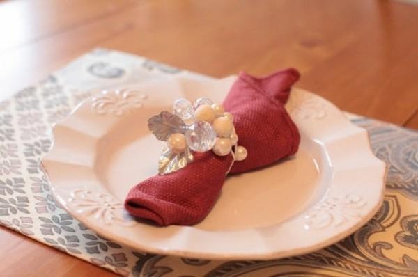 20 jolis exemples de Rond de serviette