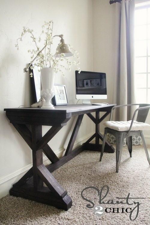Table pour chambre à coucher DIY