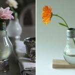 Créez des petits objets d'art avec des ampoules usagées