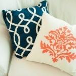 L'oreiller décoratif en 11 exemples et idées
