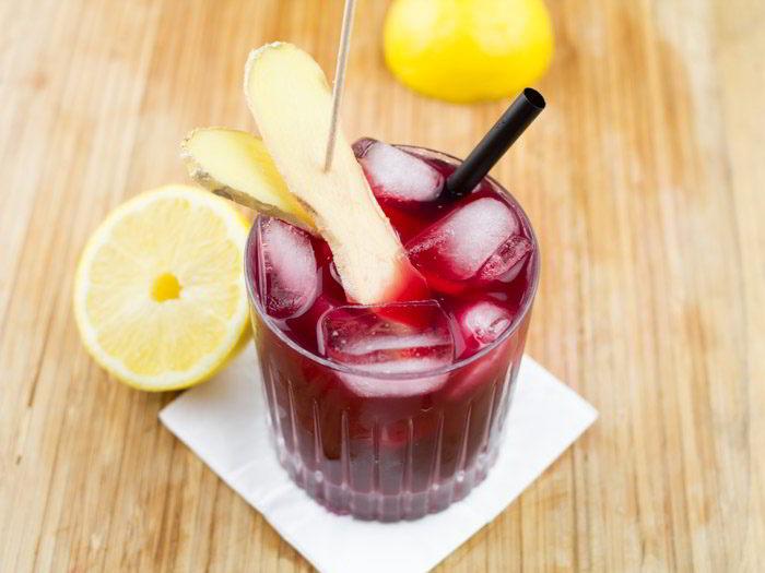 Une boisson rafraîchissante pour un été arabe