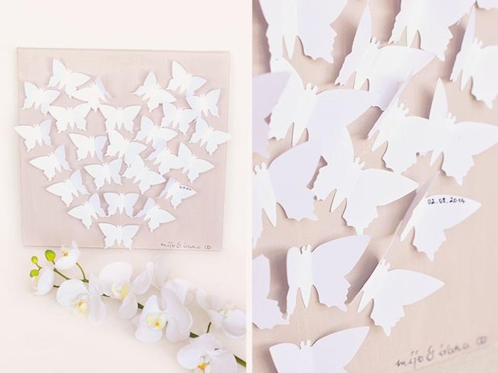 cadeau de mariage papillon