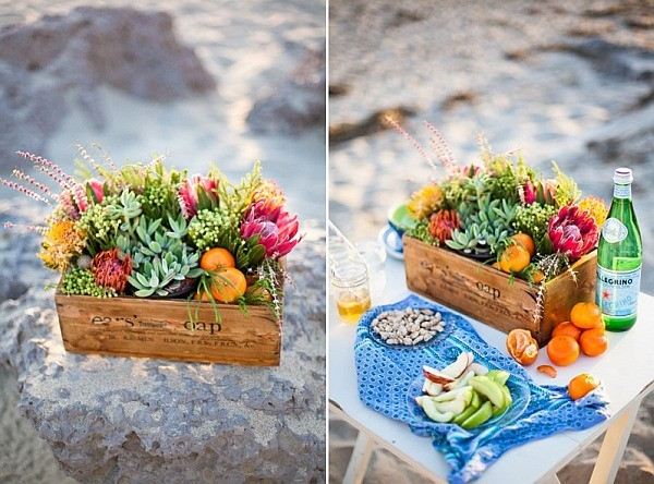 caiCaisse pour fleurs et fruits