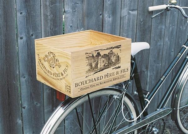 La caisse de vin se récupère et ne se jette plus