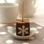 La sucette en chocolat