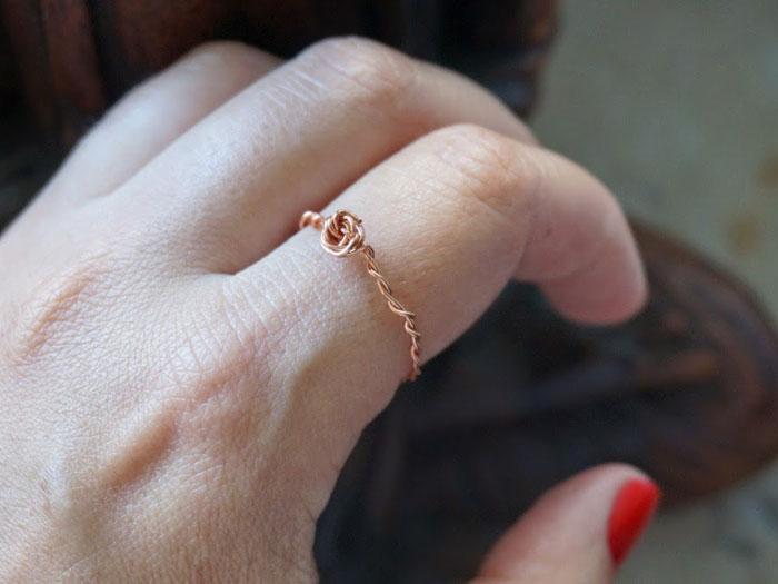 Comment faire soi m me un anneau en cuivre la maison diy - Comment realiser un dressing soi meme ...