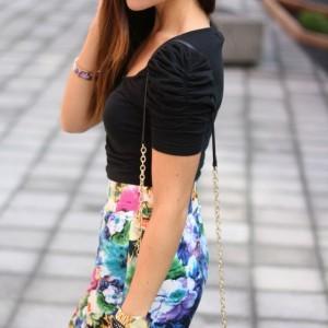 jupe-taille-haute-oasap-t-shirt-zara