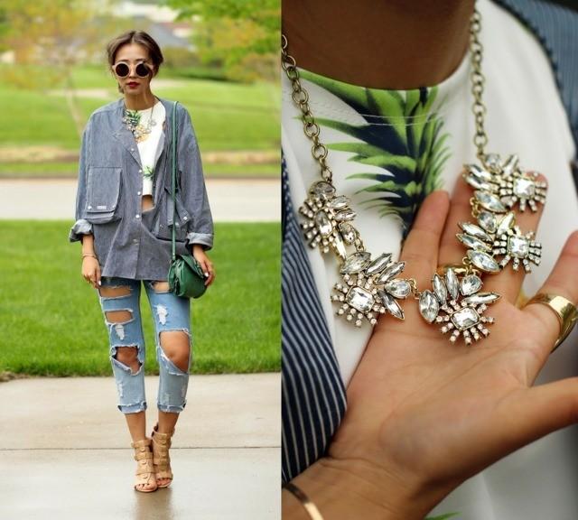 look street femme ete seek jeans blackfive collier jc penney