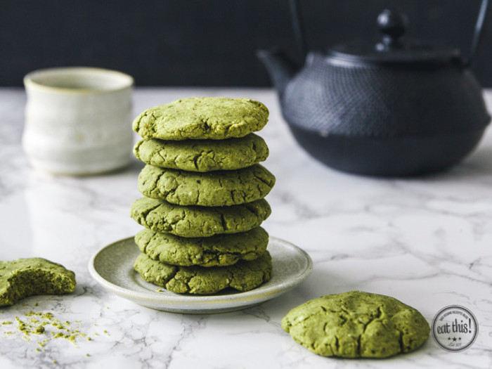 Cookies énergétiques au Matcha