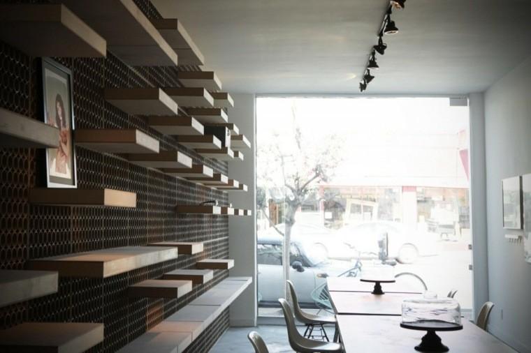 mobilier en carton etageres