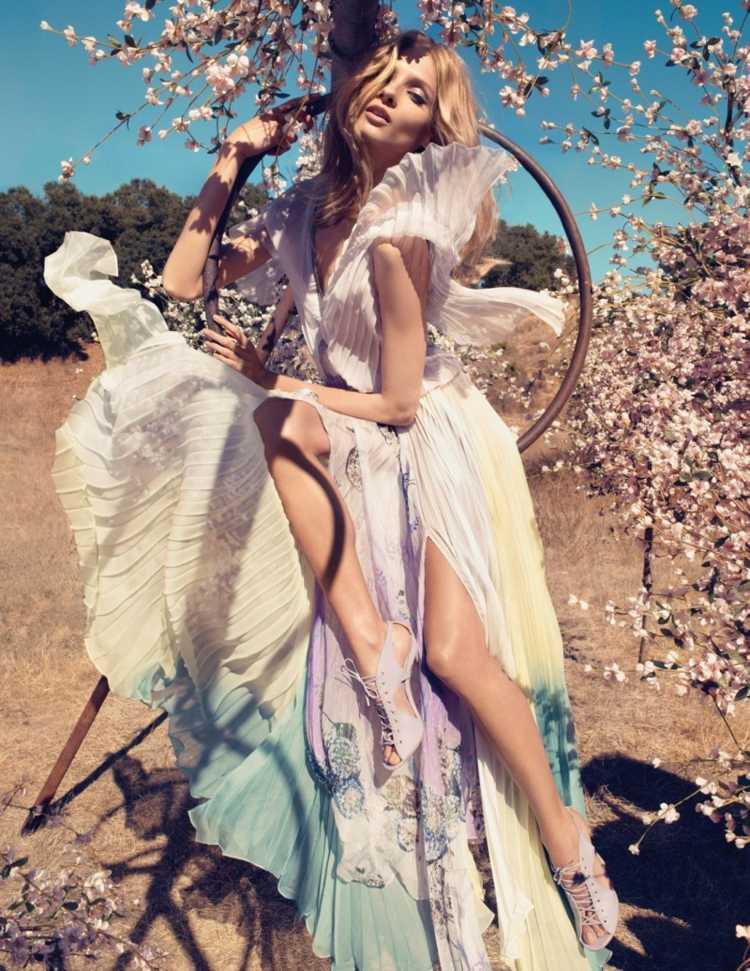 Robe d'été motif floral – tendance pour la 2015