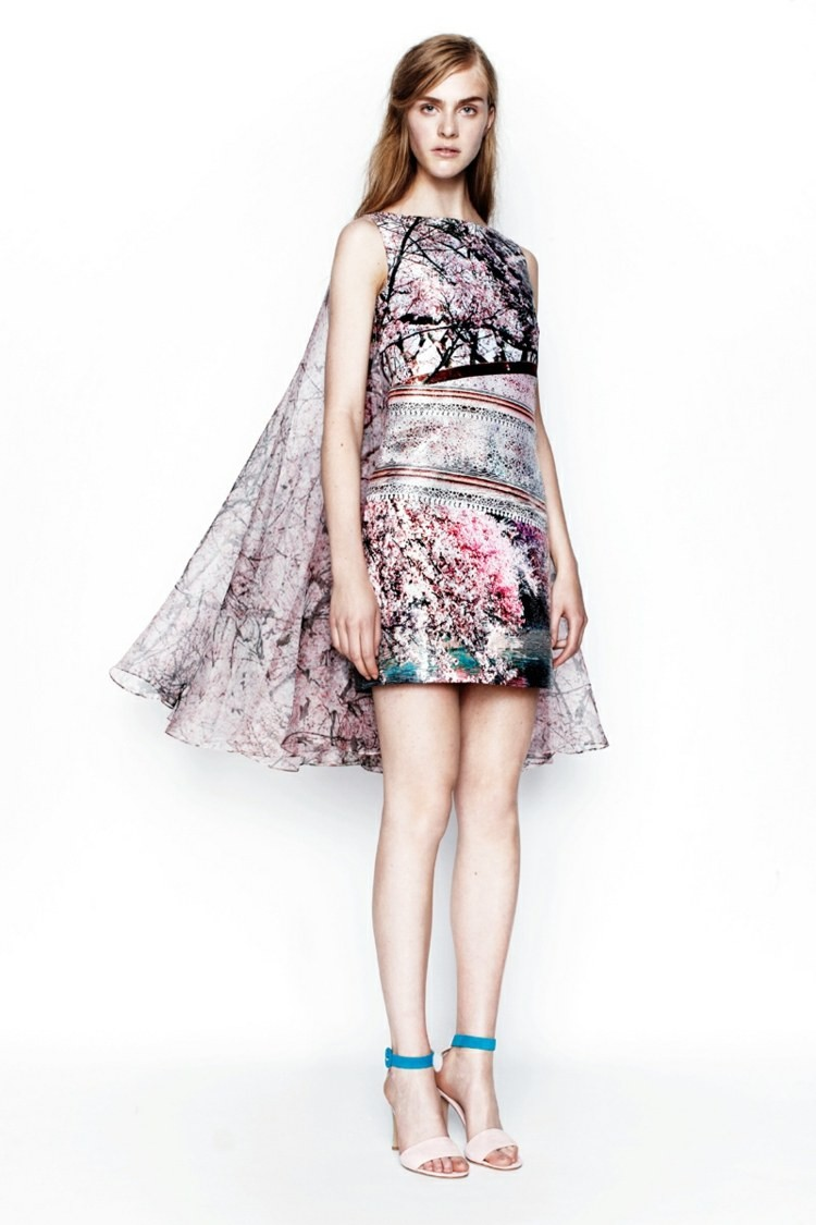 robe dété florale design Mary Katrantzou