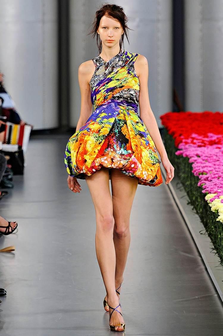 robe dété florale idee Mary-Katrantzou