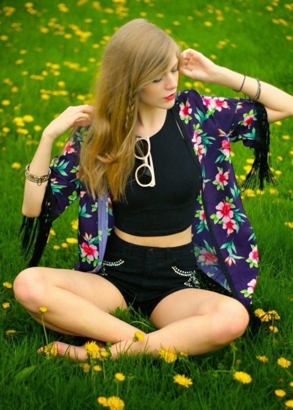 Le kimono japonise les dressings pour l'été