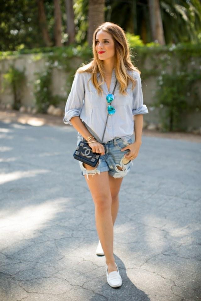 shorts jean femme idee