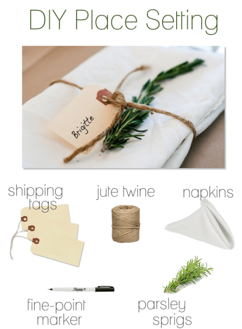 tutoriel indispensable deco table mariage DIY