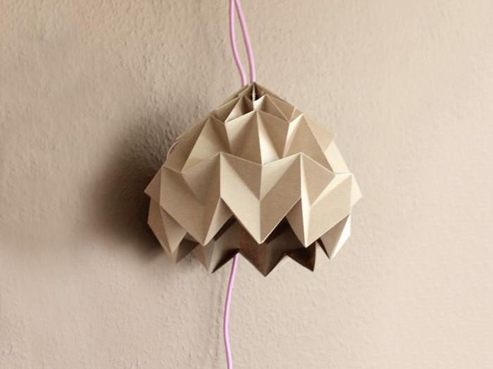 Fabriquez une lampe en Origami