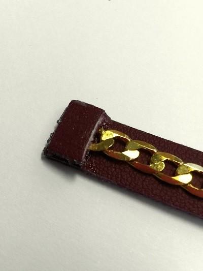 Bracelet Multi cuir Etape1