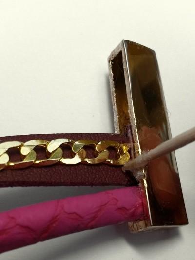 Bracelet Multi cuir Etape3
