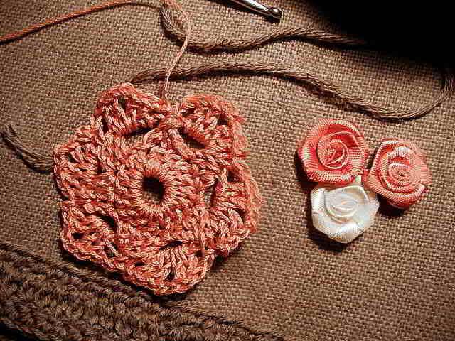 bracelet en crochet etape 2