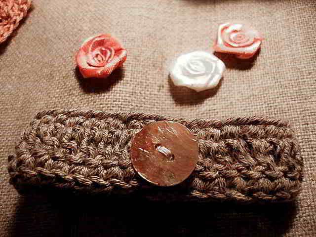 bracelet en crochet etape 3