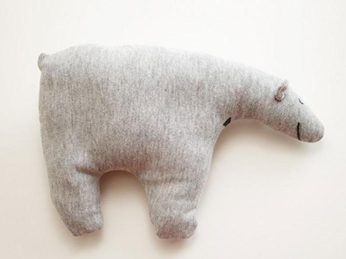 Comment coudre une peluche ours polaire