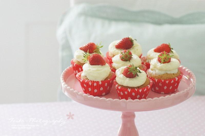 cupcakes-aux-fraises-juteuses-1