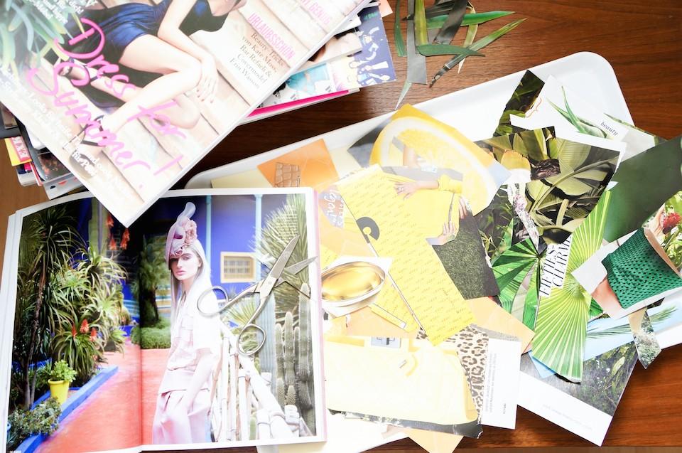 diy collage ananas etape 2