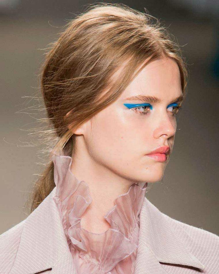 etre belle ete tendances maquillage yeux clairs
