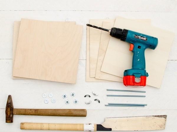 fabriquer une presse a fleur etape 1