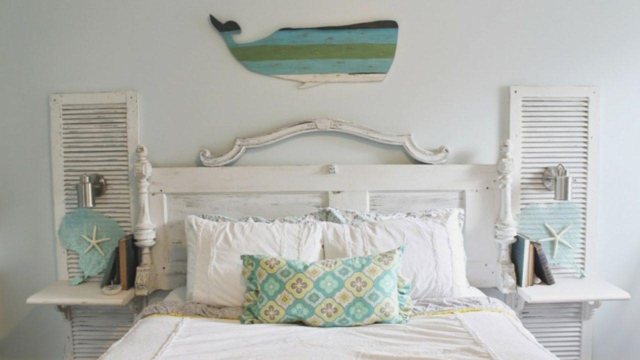 Fabriquer Tete De Lit En Bois fabriquer une tête de lit en bois avec une porte - la maison diy