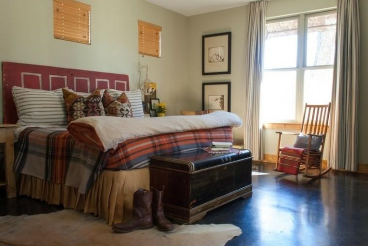 fabriquer une tete de lit en bois pour deco boheme
