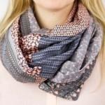 Comment coudre un foulard tube avec 6 Fat quarters