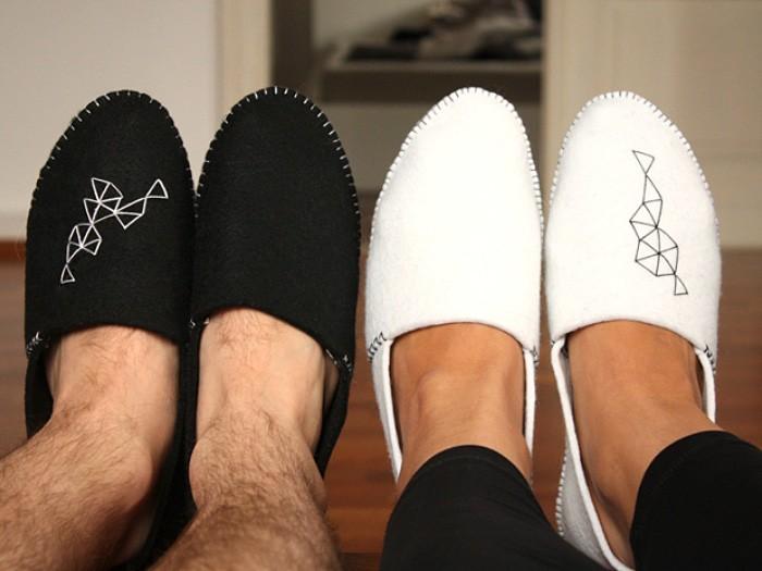 Comment faire vous-mêmes vos pantoufles en feutrine