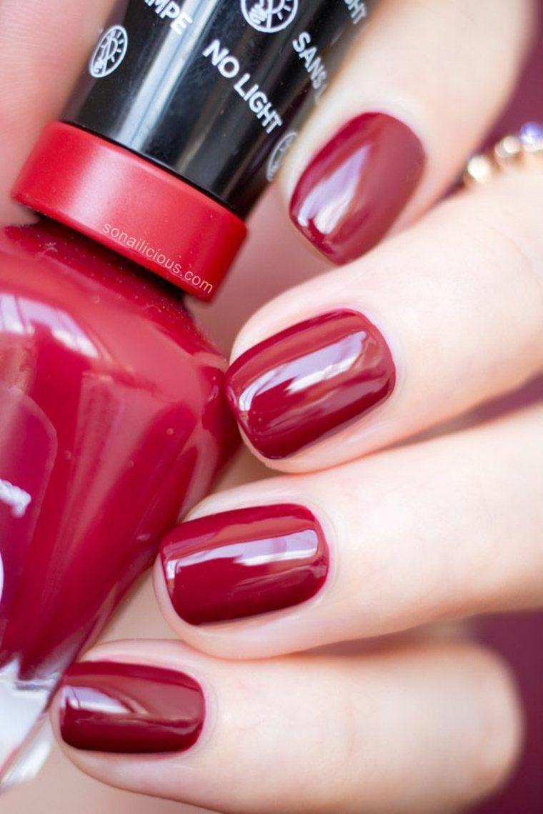 Rouge Classique Ongles Vernis Idees Fraiches Deco Maison Halloween