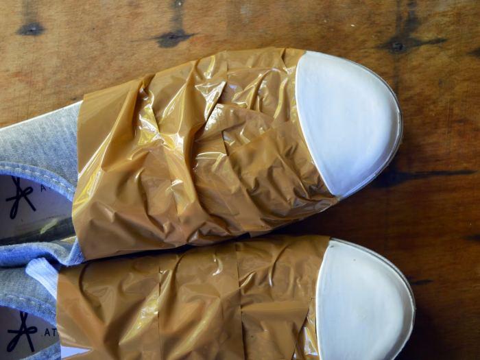 sneakers dores etape 2