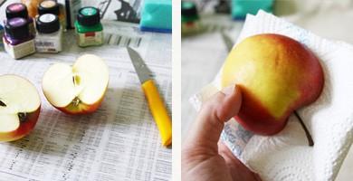 DIY Sac à imprimés naturels