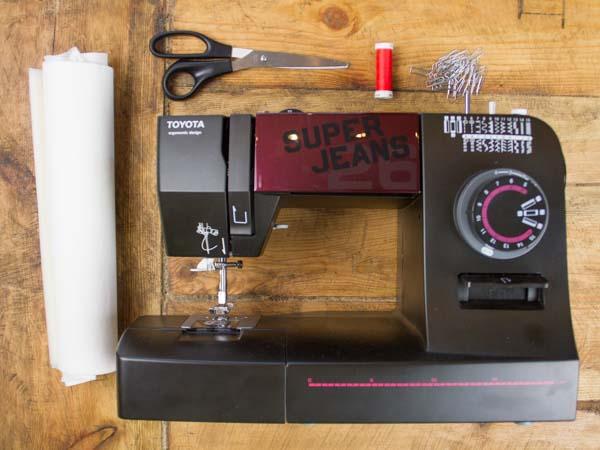 tisser une corbeille en papier etape 1