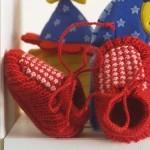 Tricotez des chaussons pour bébé