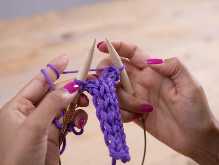 Tricoter les bandes